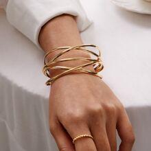 1pc Line Winding Shaped Cuff Bracelet