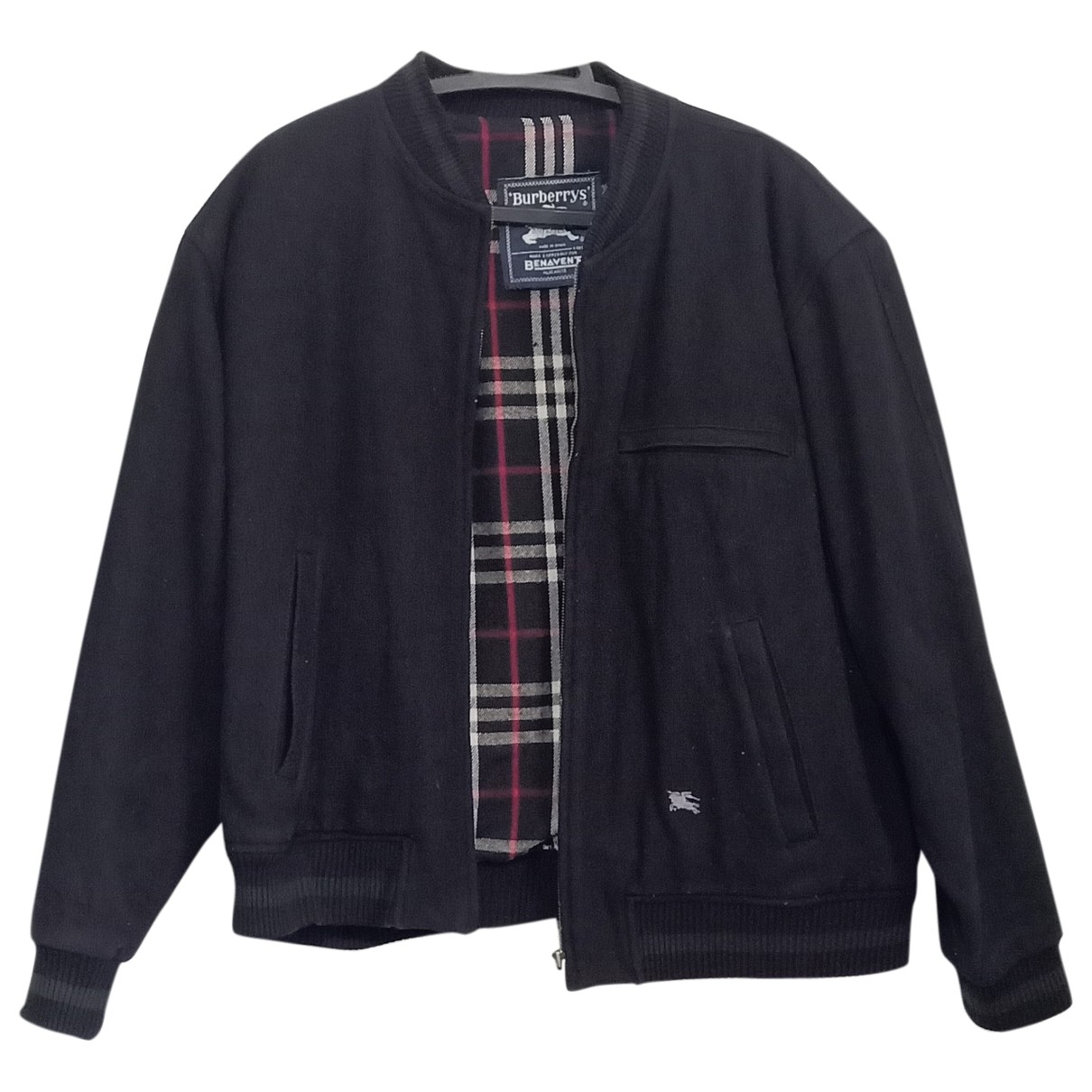 Burberry \N Blue Wool jacket  for Men XL International