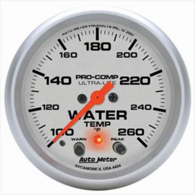 Auto Meter Ultra-Lite Electric Water Temperature Gauge - 4454