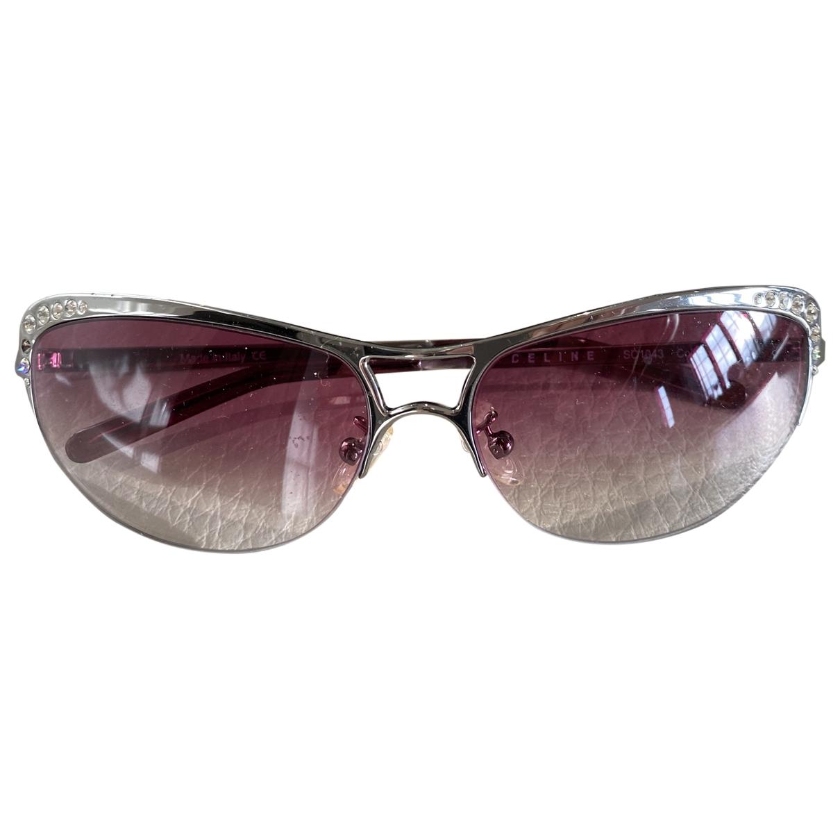 Celine \N Purple Metal Sunglasses for Women \N