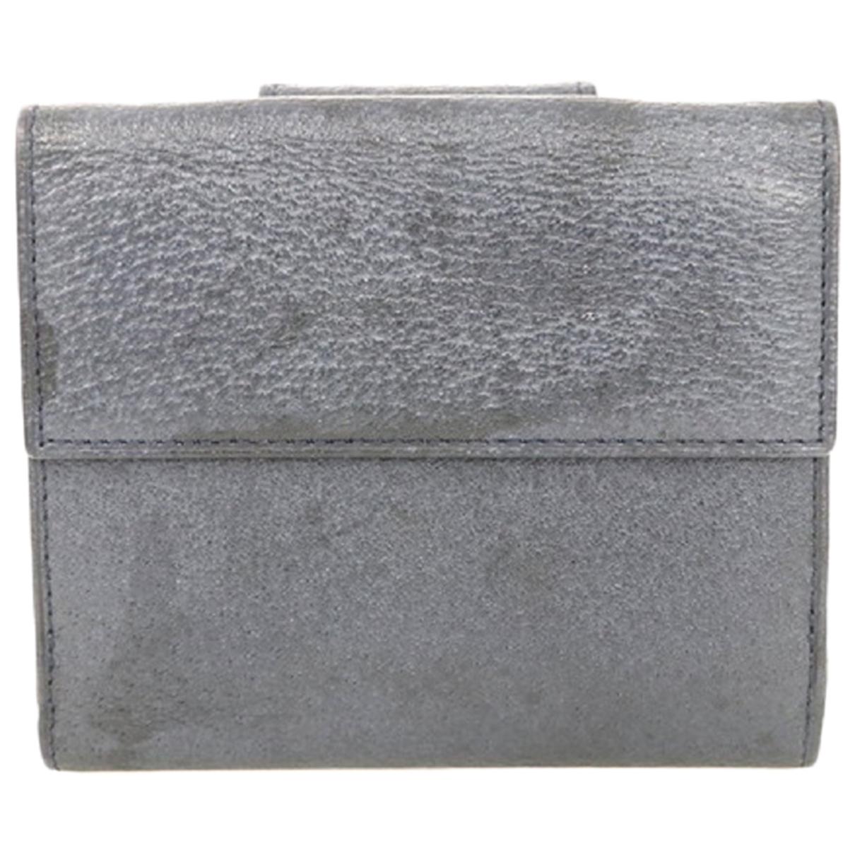 Bvlgari \N Portemonnaie in Leder