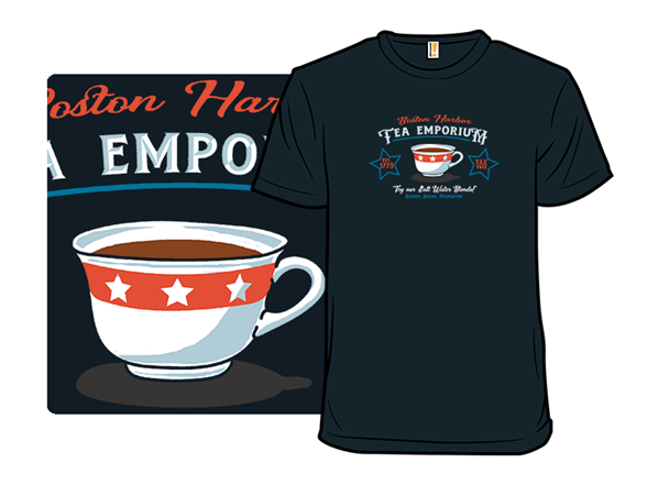 Boston Tea Emporium T Shirt