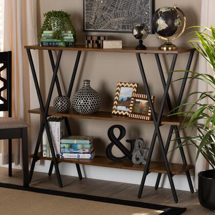 Norton Collection YLX-0906-020-CONSOLE Console Table in Walnut brown