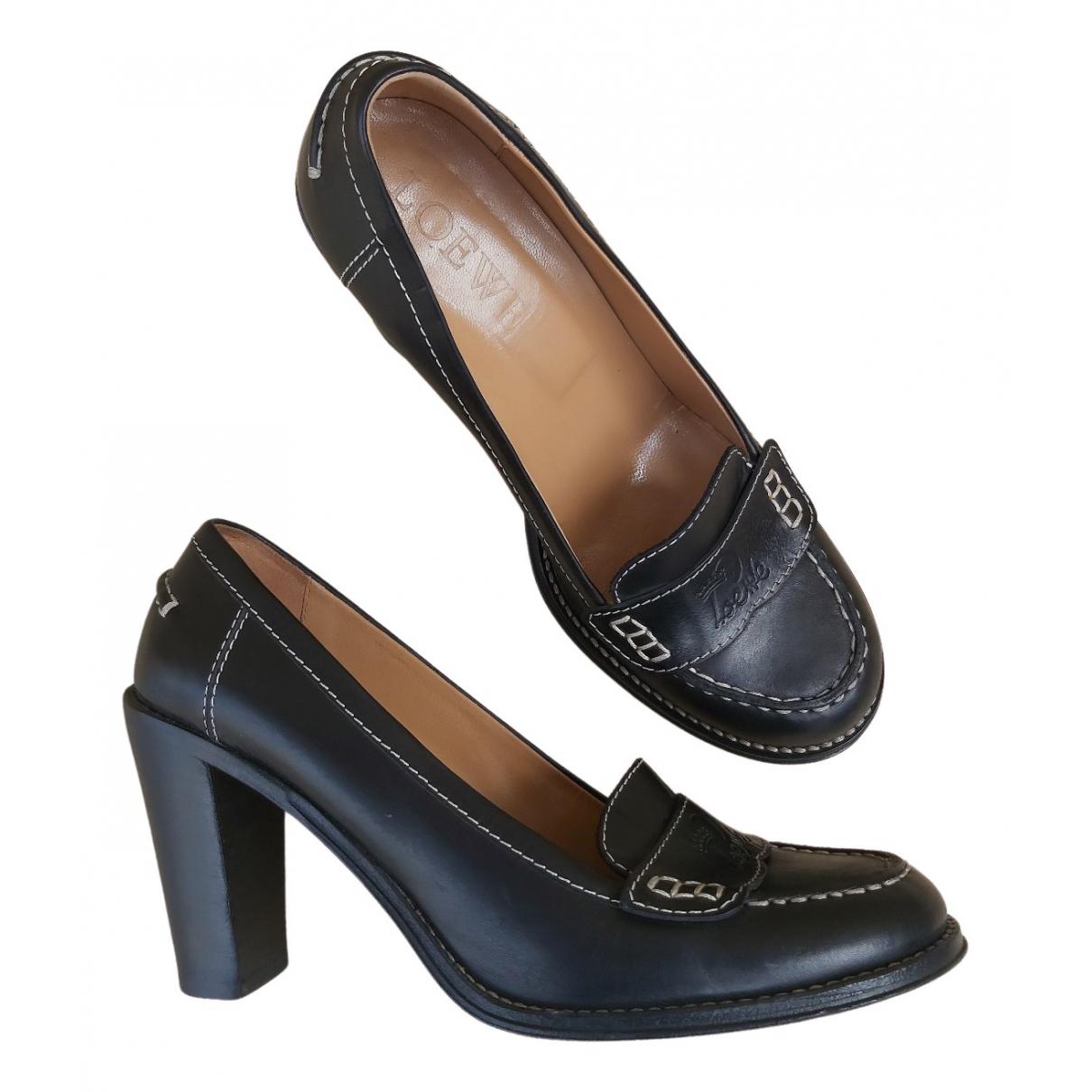 Loewe - Escarpins   pour femme en cuir - noir