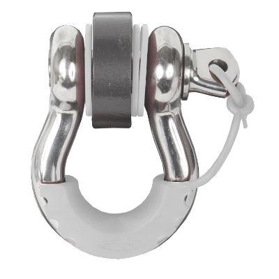 Daystar Locking D-Ring Isolator (White) - KU70058WH
