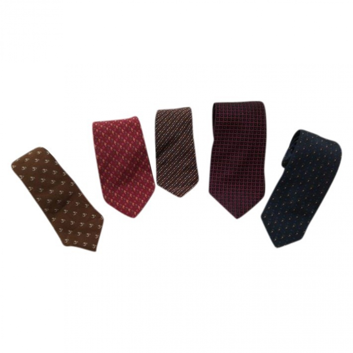 Ermenegildo Zegna \N Multicolour Silk Ties for Men \N