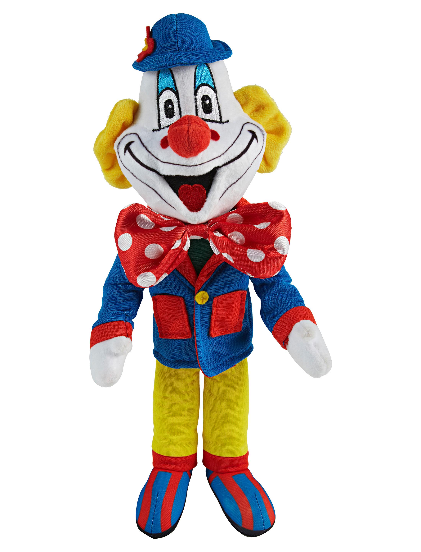 Kostuemzubehor Deiters Clown Pluesch 30cm Farbe: multicolor bzw. bunt