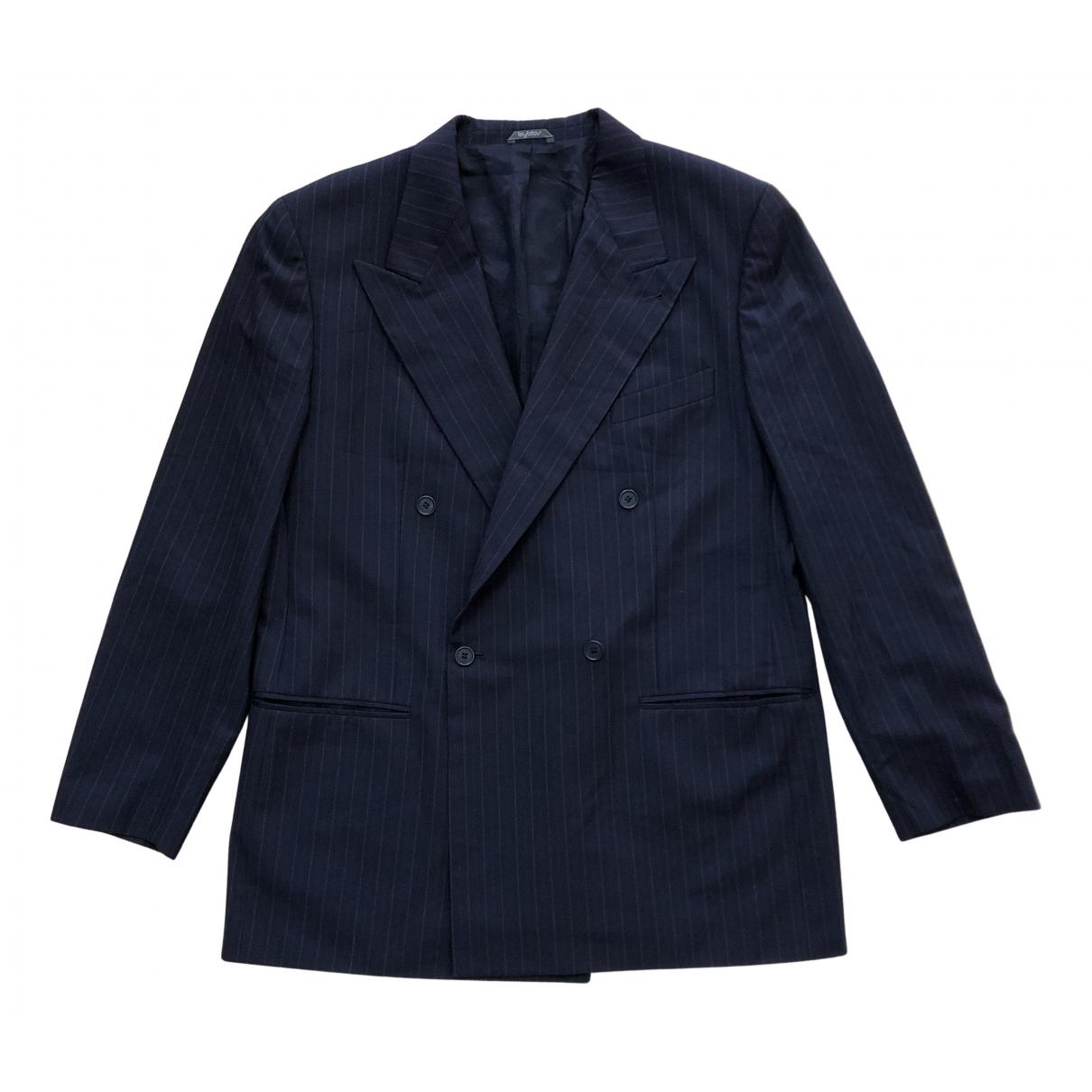 Byblos - Vestes.Blousons   pour homme en laine - bleu