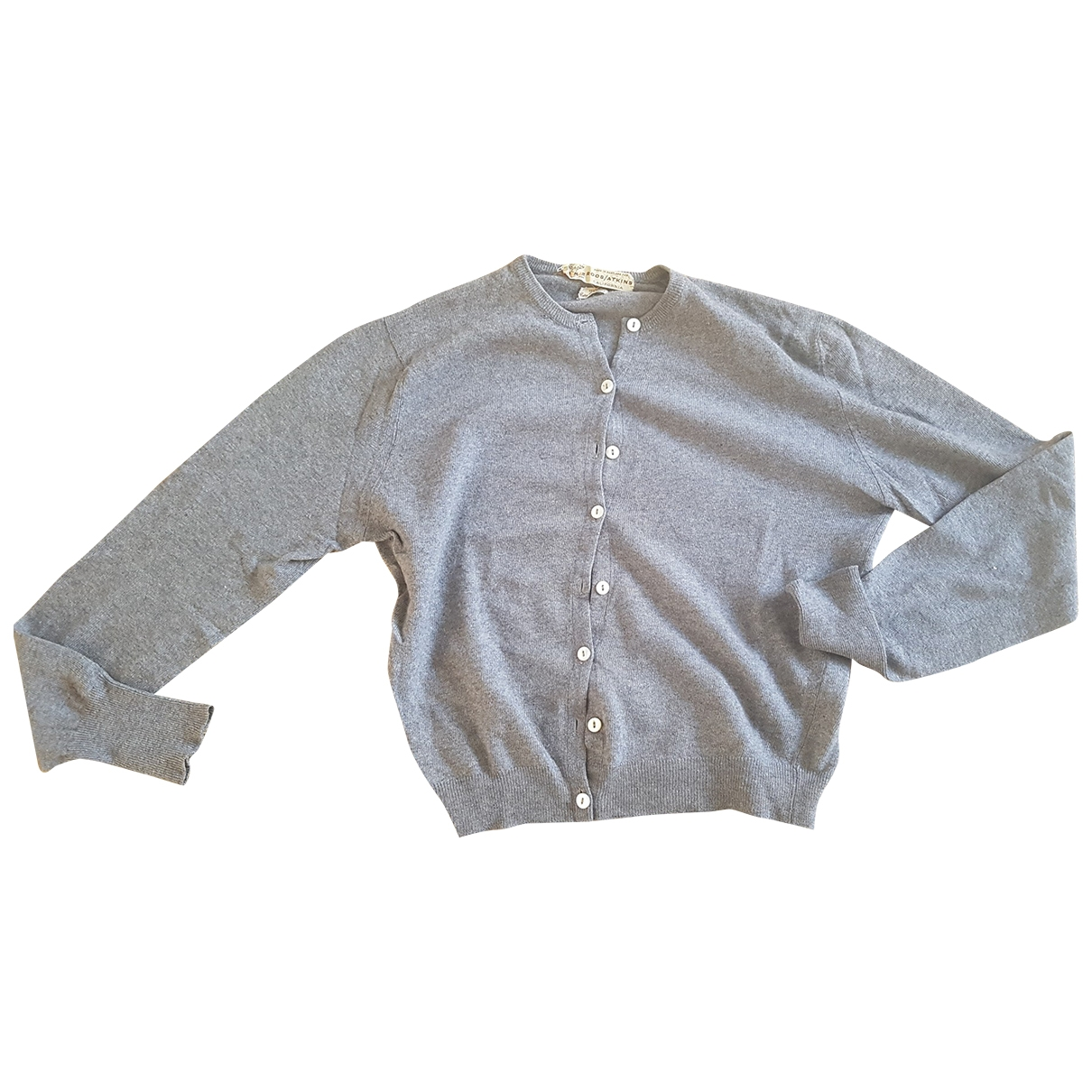 Non Signé / Unsigned \N Grey Cashmere Knitwear for Women 40 FR