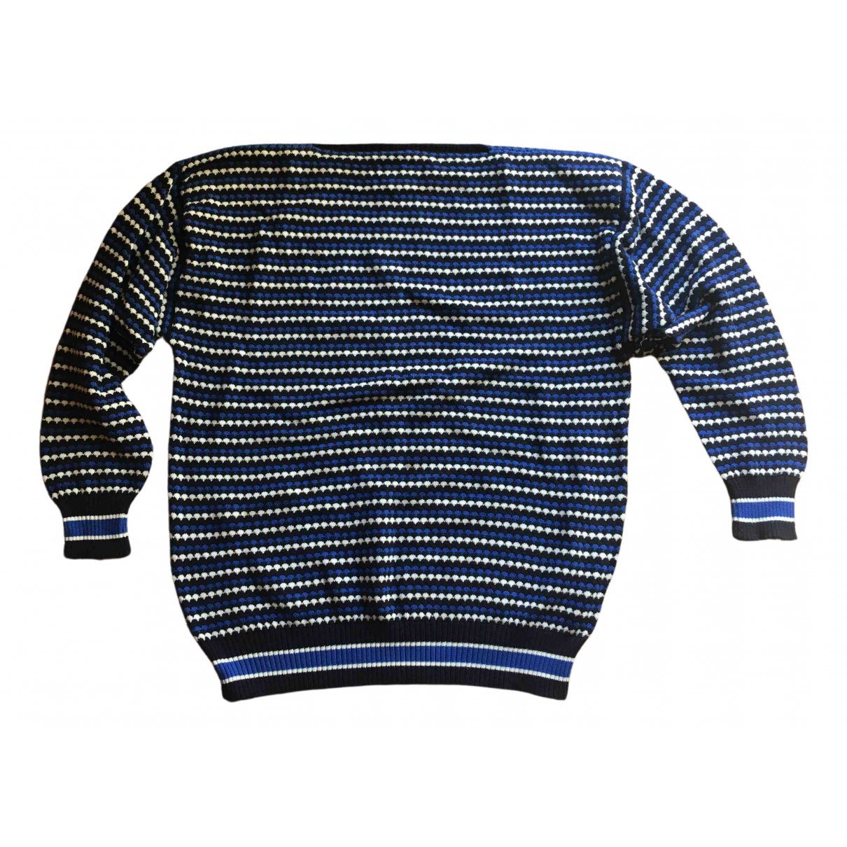 Gianfranco Ferre \N Pullover.Westen.Sweatshirts  in  Blau Baumwolle