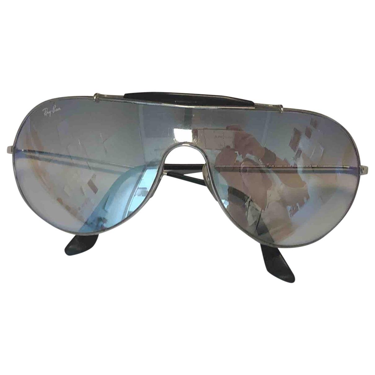 Ray-ban \N Sonnenbrillen in  Metallic Metall