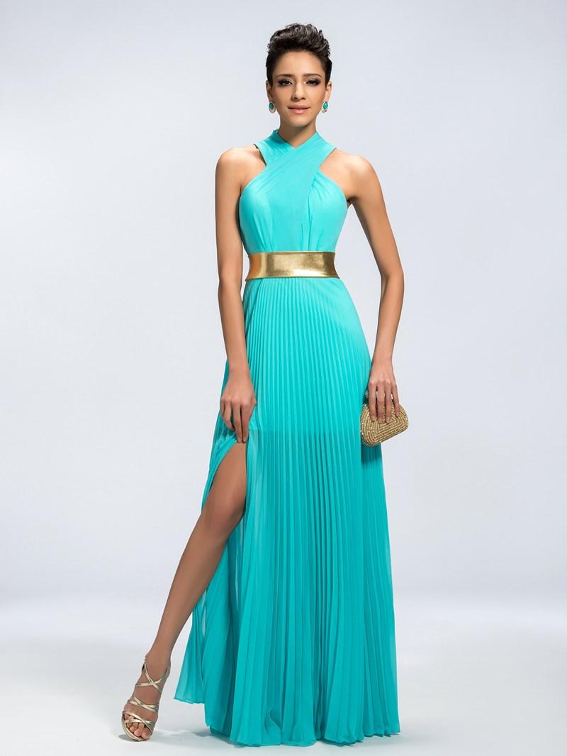 Ericdress Classy Vogue A-Line Split-Front Evening Dress