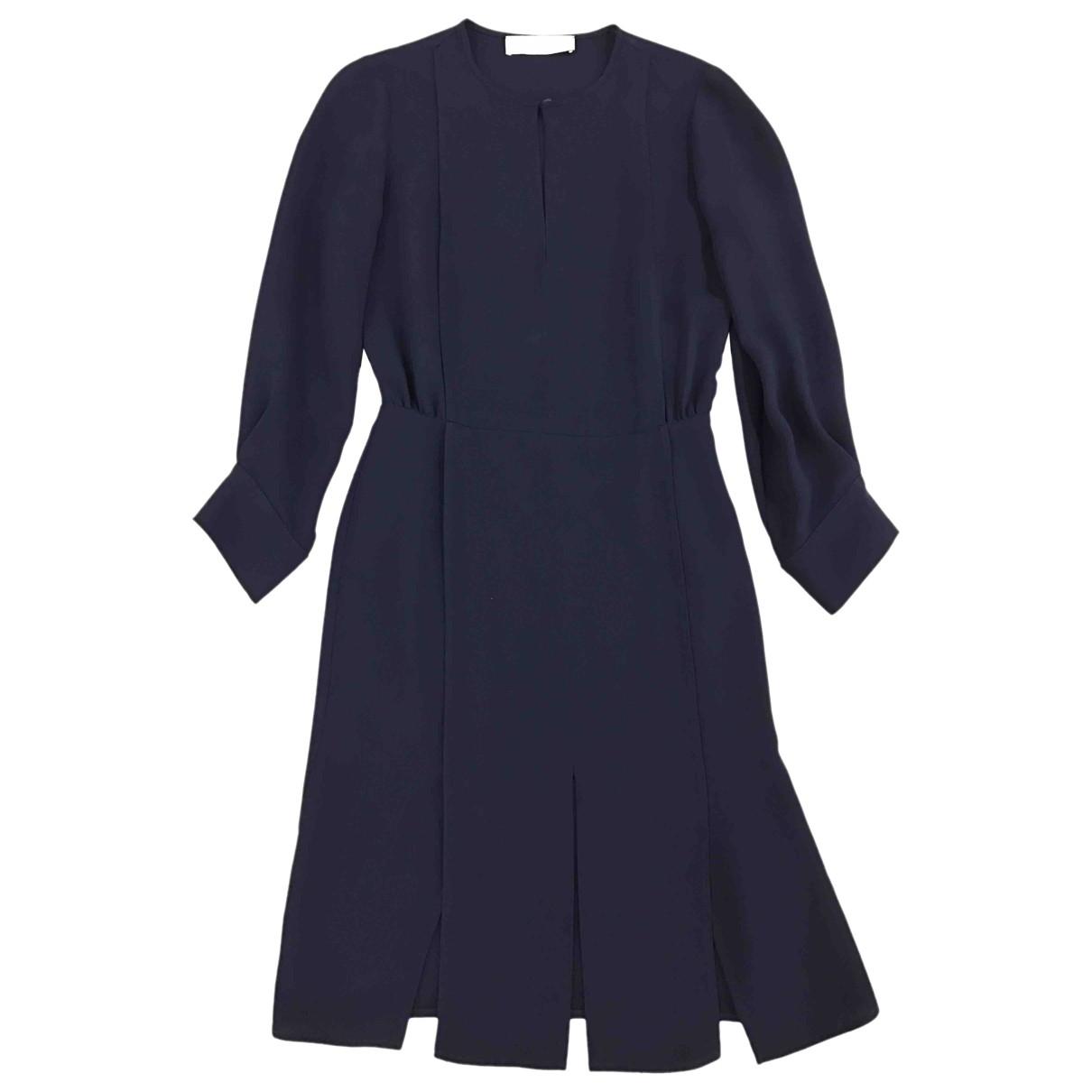 Stella Mccartney \N Kleid in  Blau Viskose