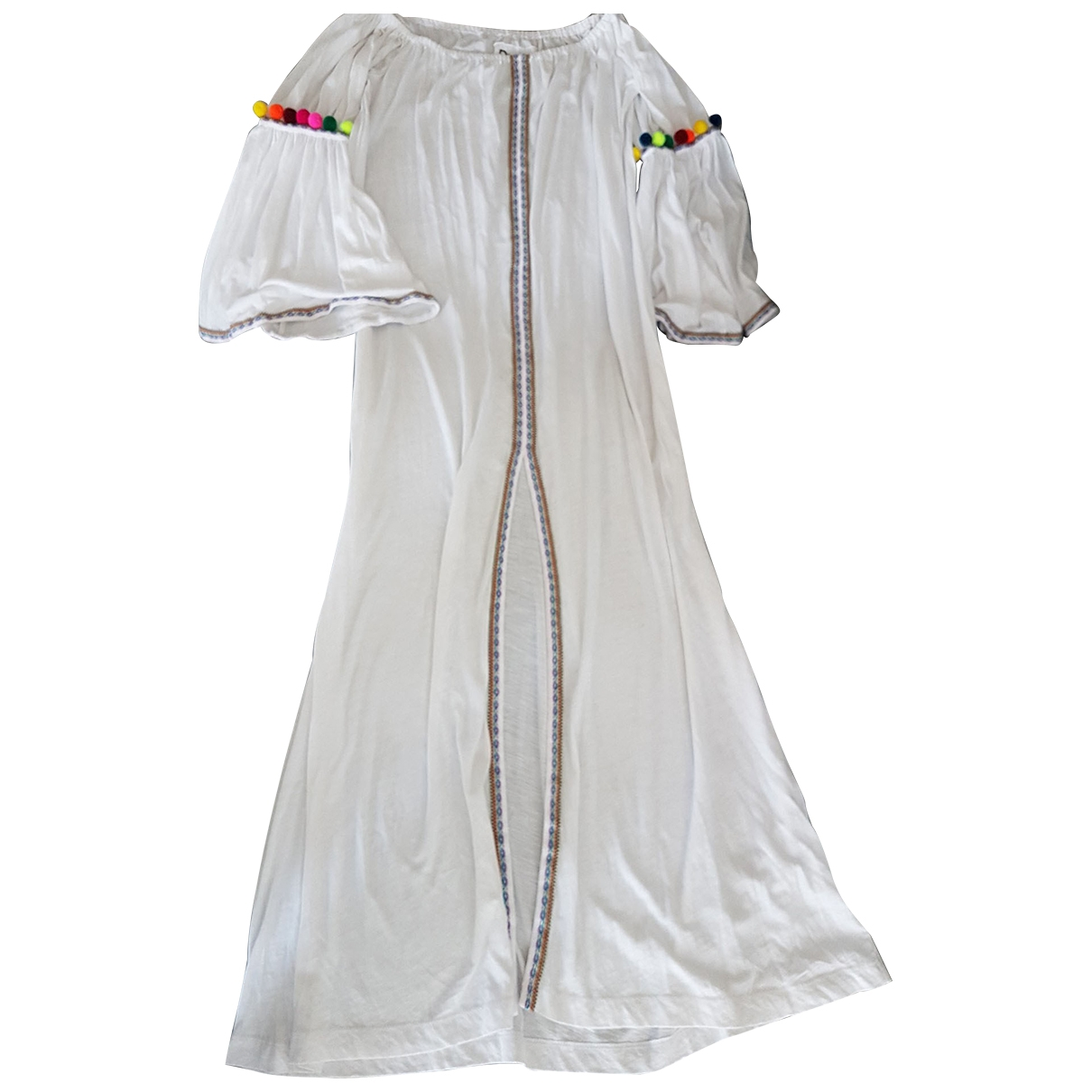 Pitusa - Robe   pour femme en coton - blanc