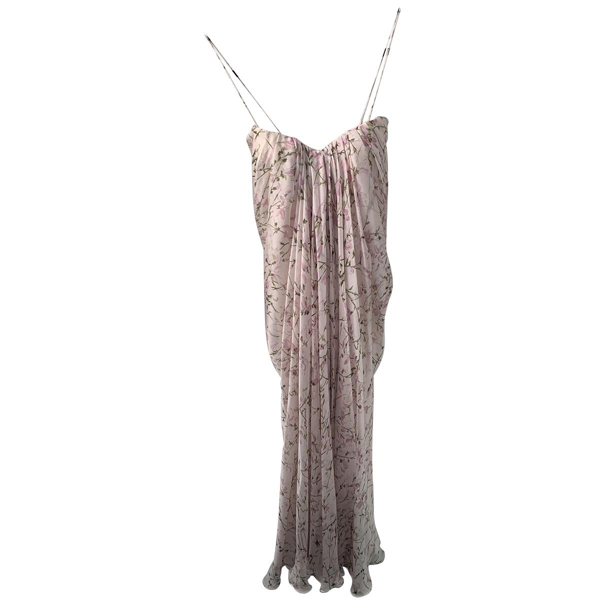 Alexander Mcqueen - Robe   pour femme en coton - rose
