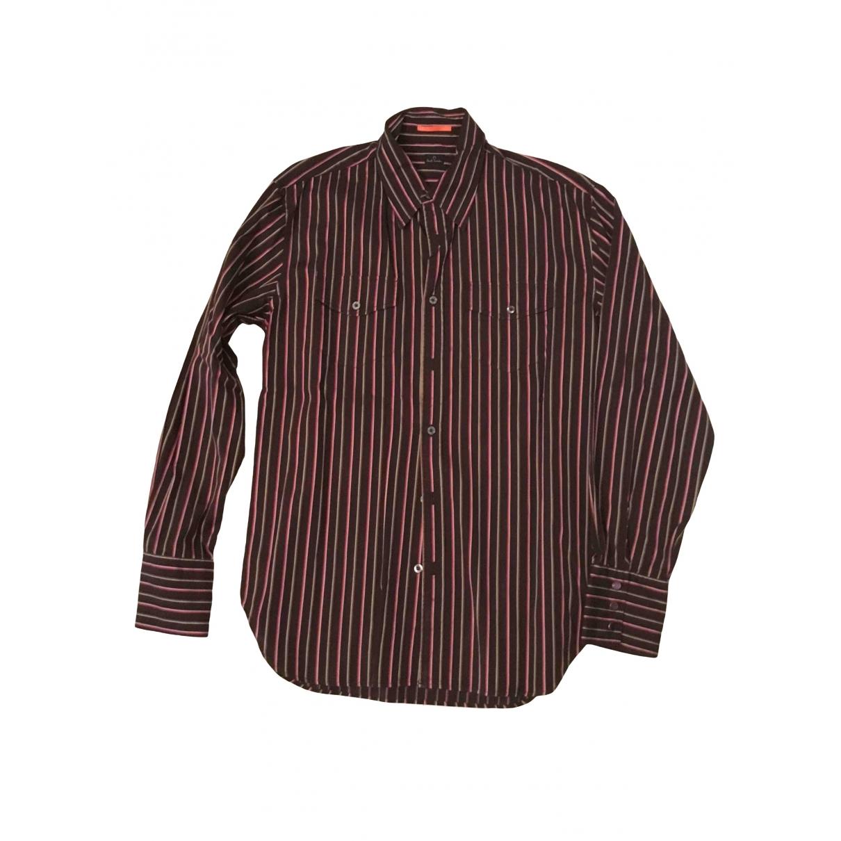 Paul Smith - Chemises   pour homme en coton - marron