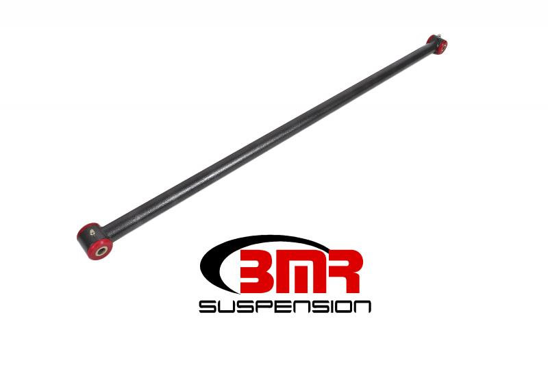 BMR Suspension PHR005H Panhard Rod DOM Non-adjustable Polyurethane Bushings Black Ford Mustang 05-14