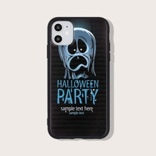 Funda de iphone con patron de halloween