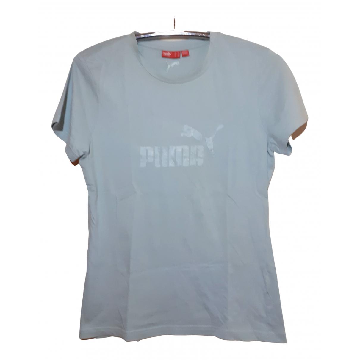 Puma - Top   pour femme en coton - turquoise