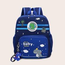 Boys Cartoon Graphic Backpack
