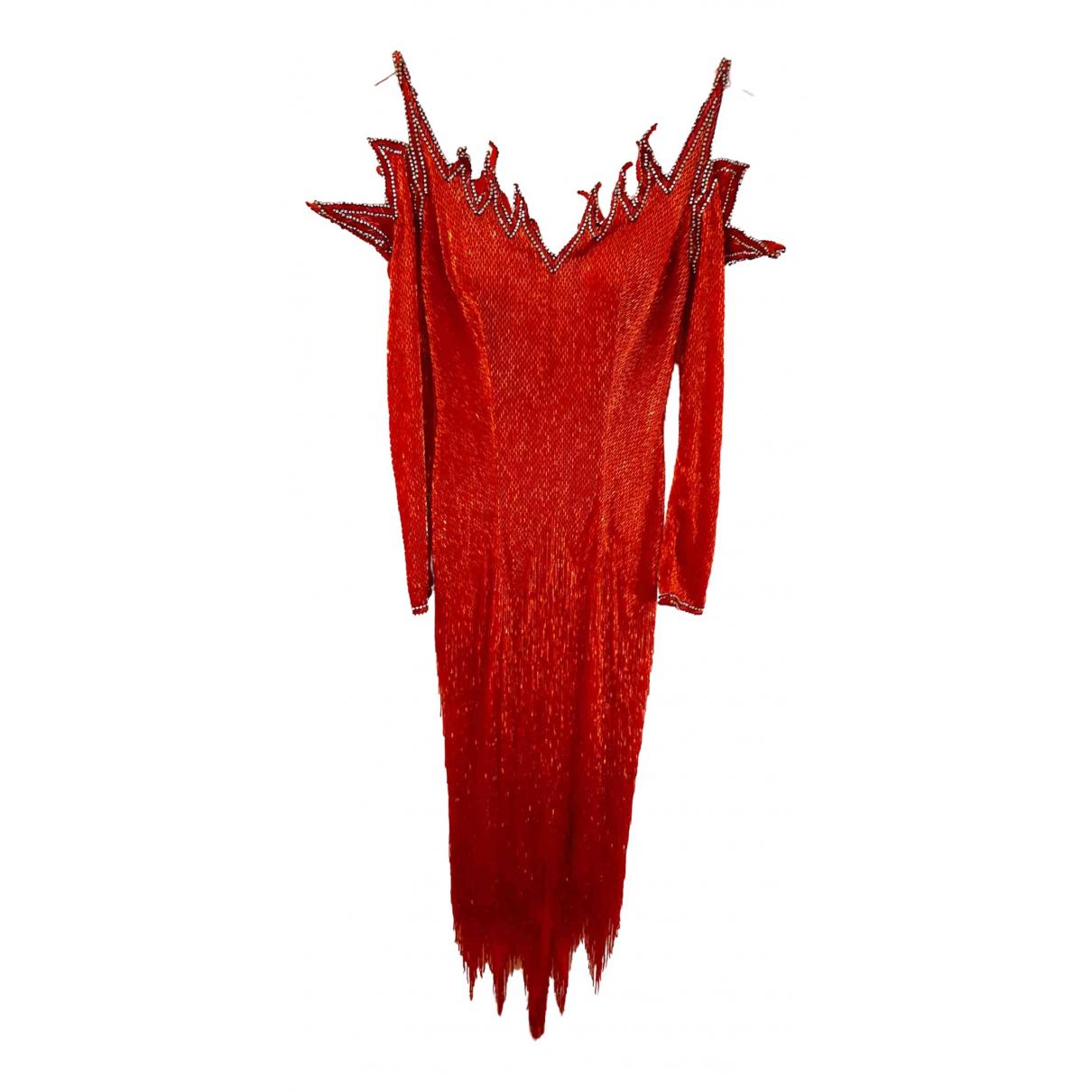Non Signe / Unsigned \N Kleid in  Bunt Mit Pailletten