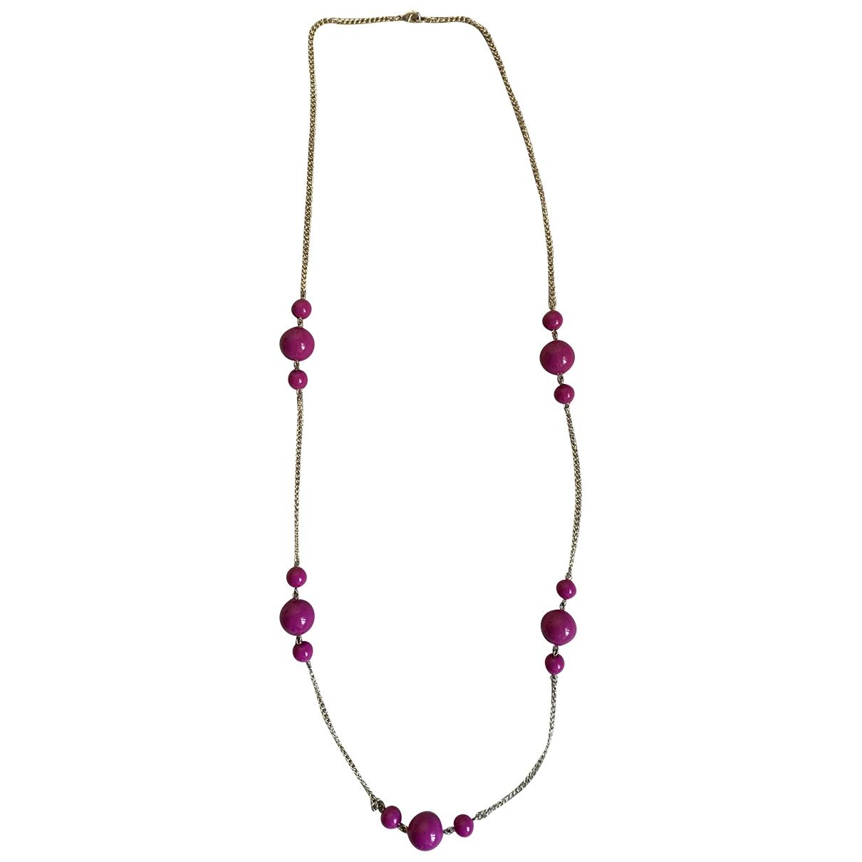 Collar largo Corail de Perlas Non Signe / Unsigned