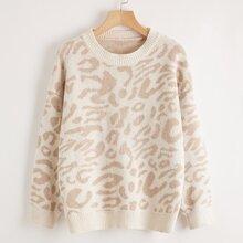 Leopard Pattern Sweater