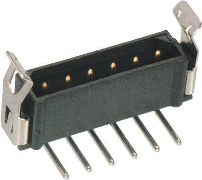 HARWIN , Datamate L-Tek, 2 Way, 1 Row, Right Angle PCB Header