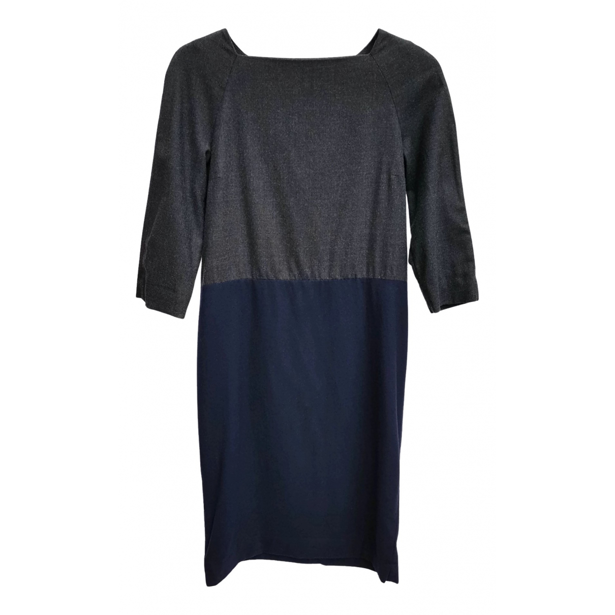 Cos \N Kleid in  Grau Wolle