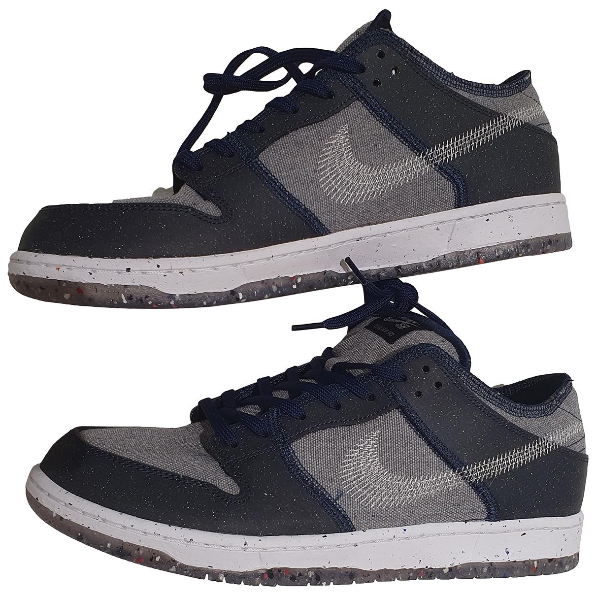 Nike SB Dunk  Sneakers in Leinen