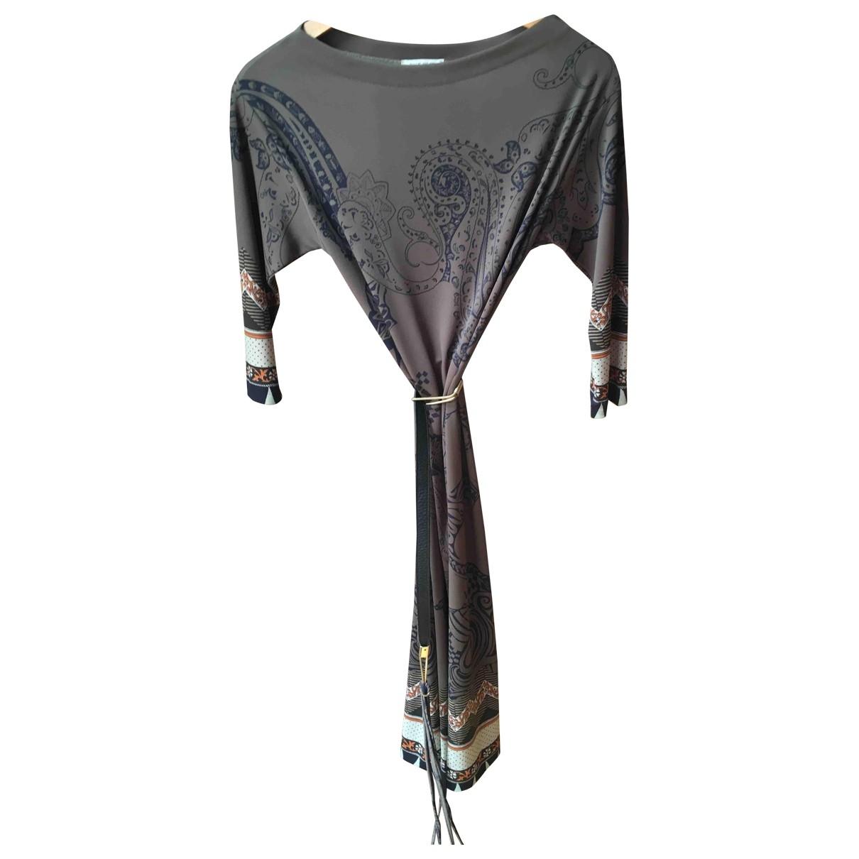 Etro \N Khaki dress for Women 42 IT
