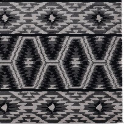 RUGLG0281 8 x 10 Rectangle Area Rug in