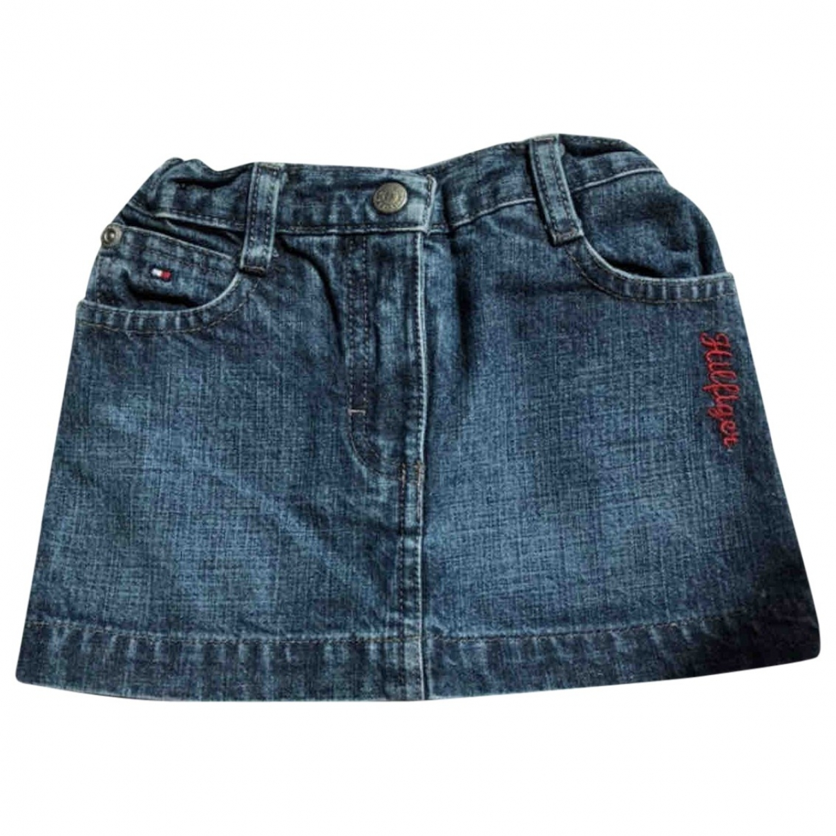 Tommy Hilfiger \N Blue Cotton skirt for Kids 9 months - up to 71cm FR