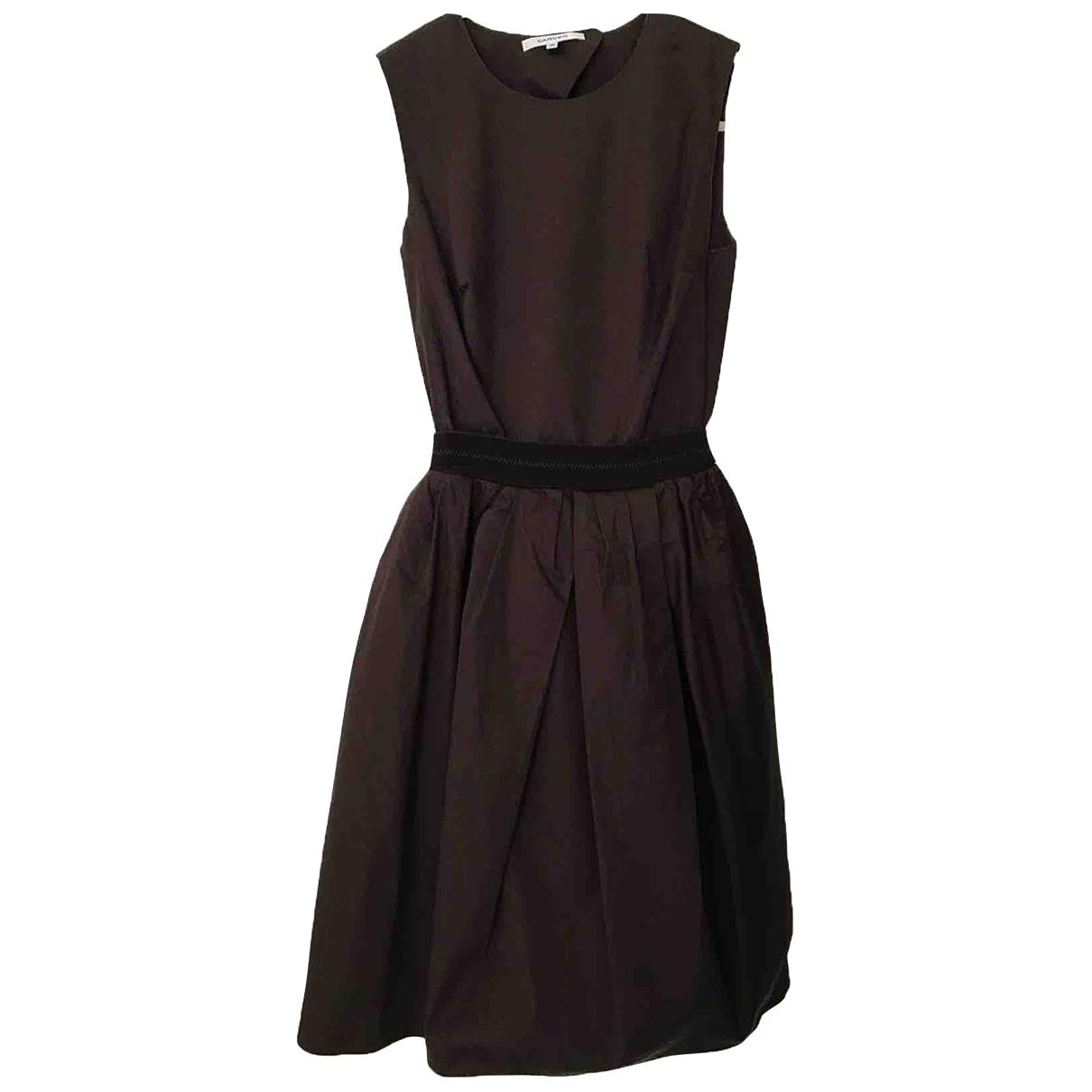 Carven \N Brown Cotton dress for Women 38 FR