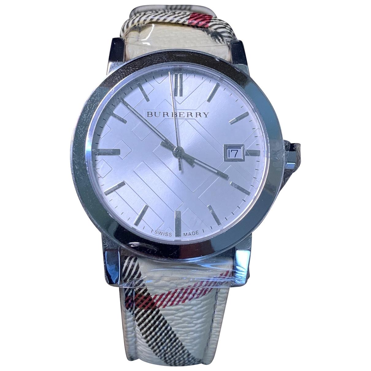 Relojes de Plata Burberry
