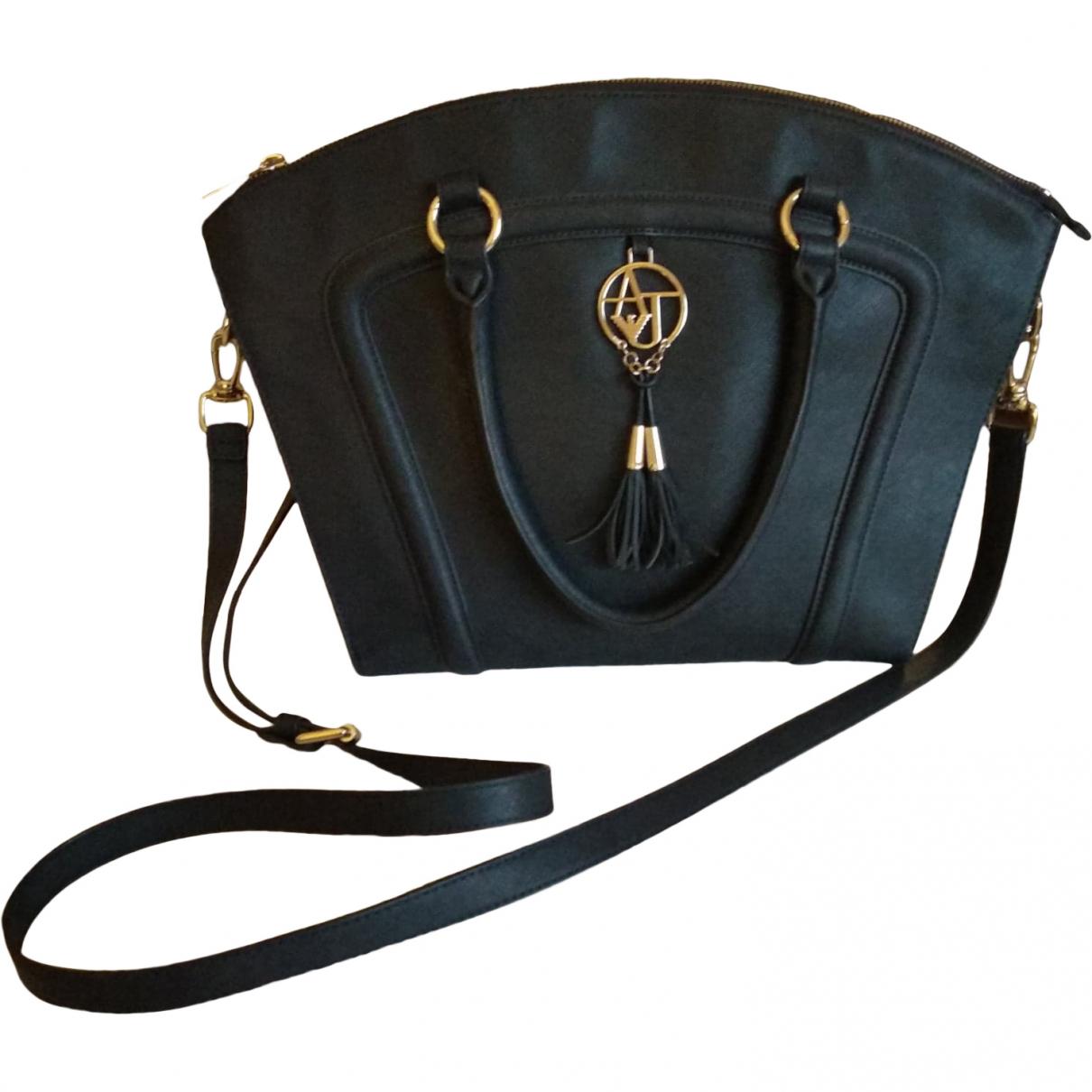 Armani Jeans \N Handtasche in  Blau Kunststoff