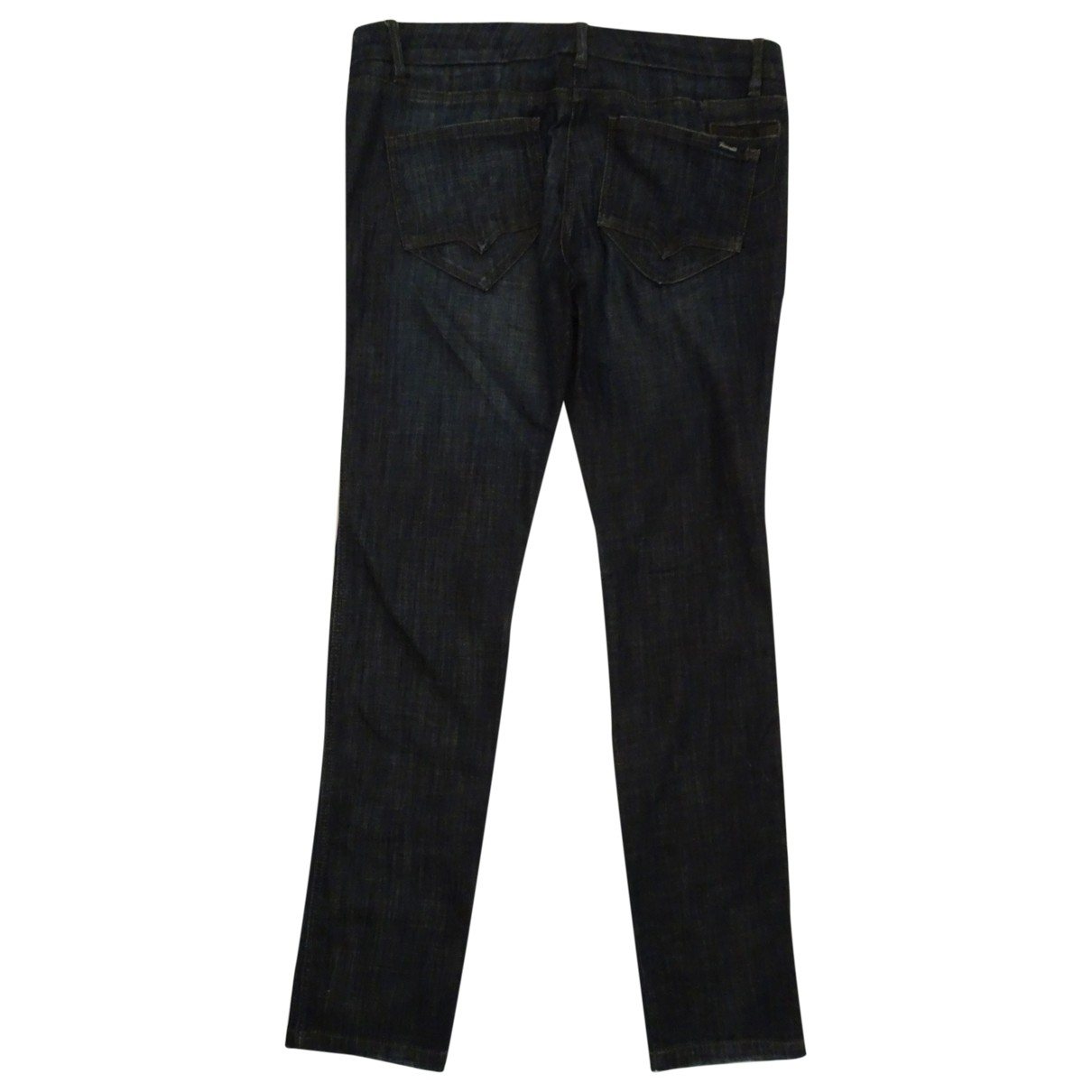 Trussardi Jeans \N Blue Cotton - elasthane Jeans for Women 34 US
