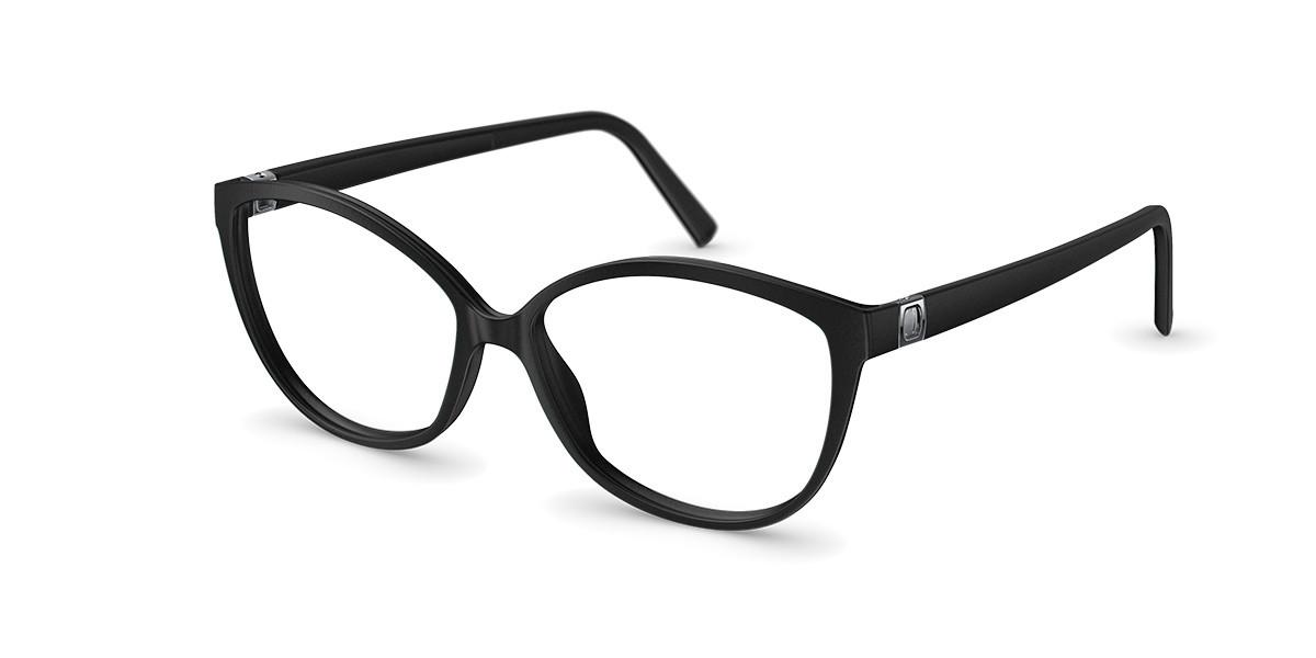 Neubau T086 Greta 9010 Men's Glasses Black Size 54 - Free Lenses - HSA/FSA Insurance - Blue Light Block Available
