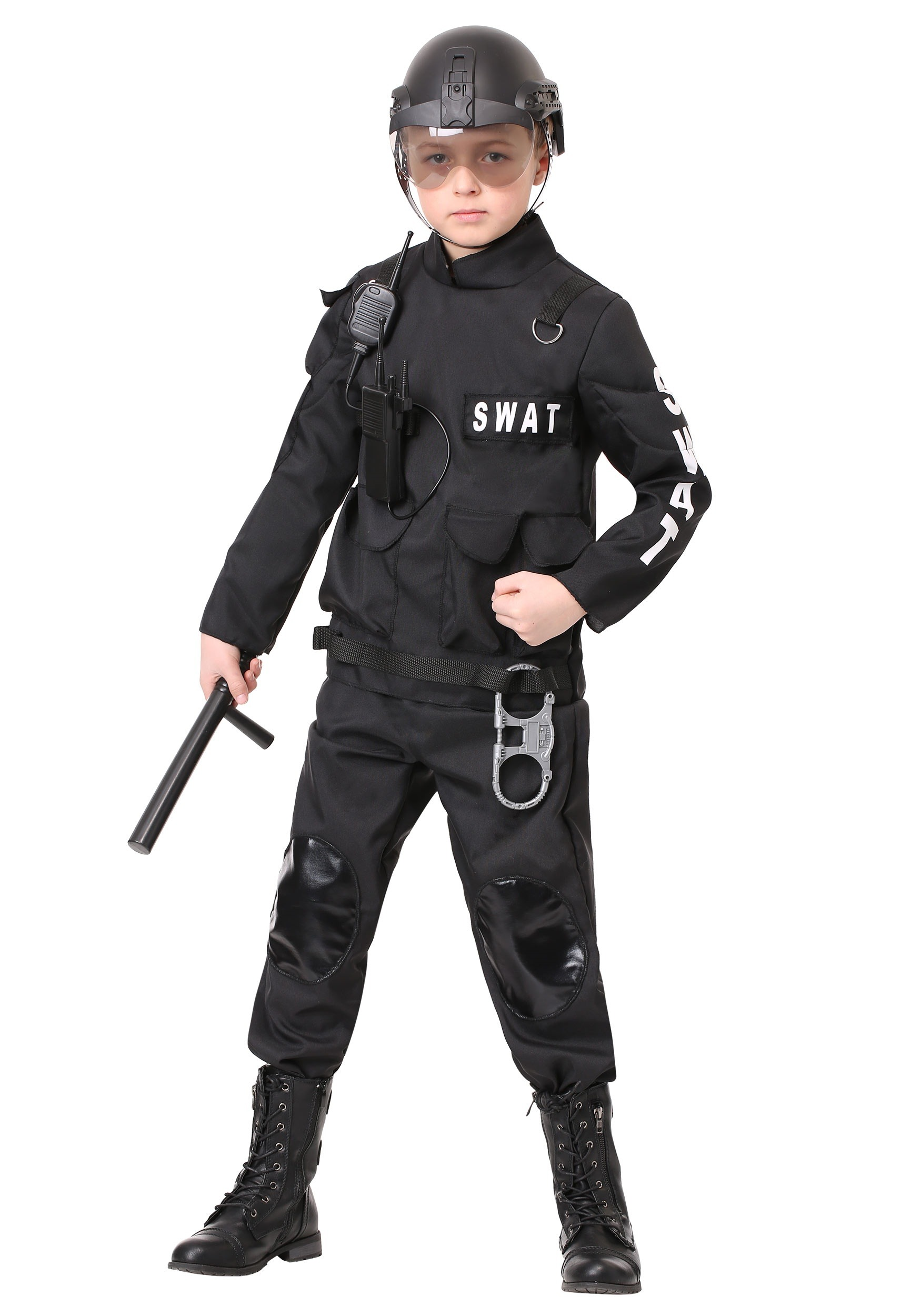 SWAT Commander Costume for Kids | Exclusive | Made By Us