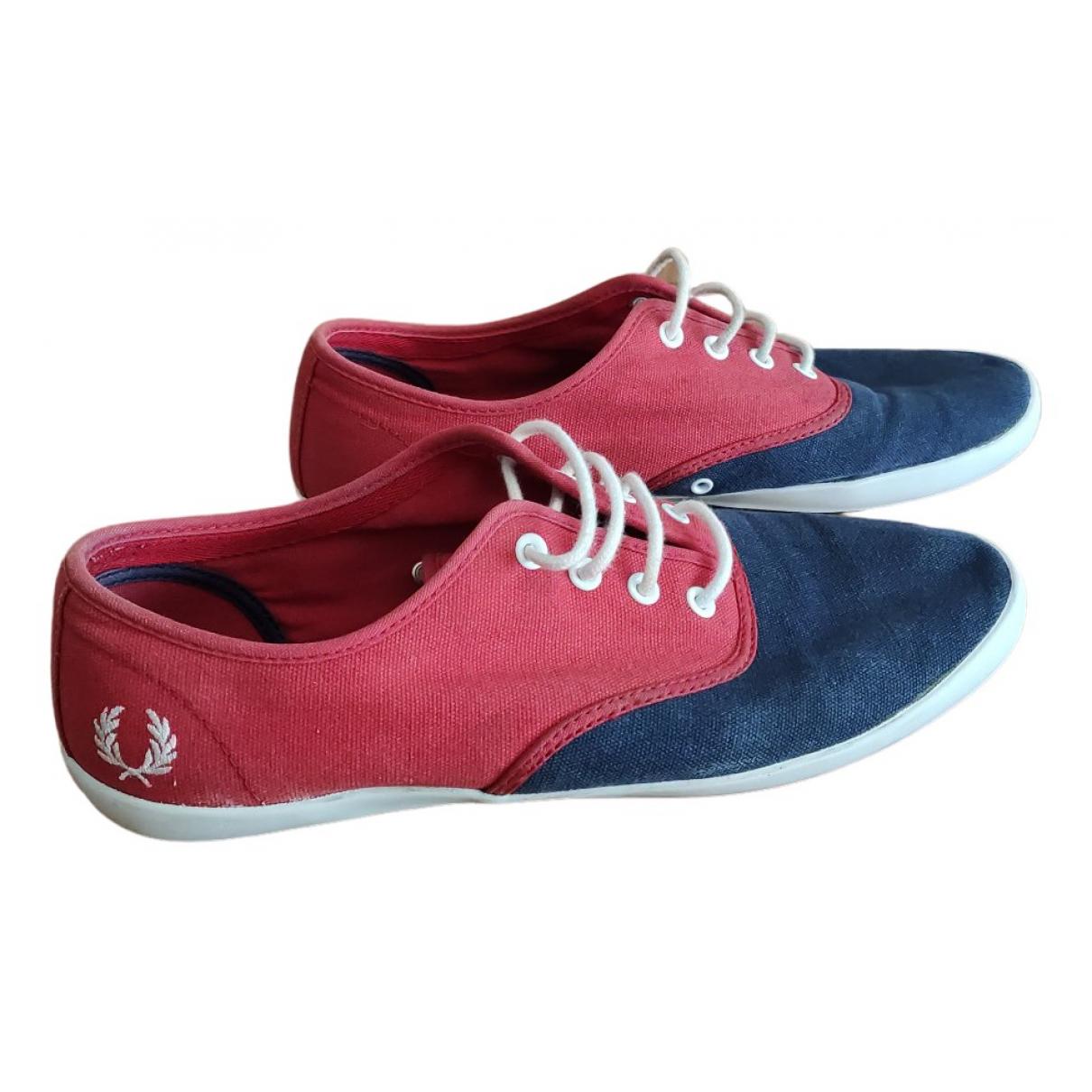 Fred Perry \N Sneakers in  Marine Leinen