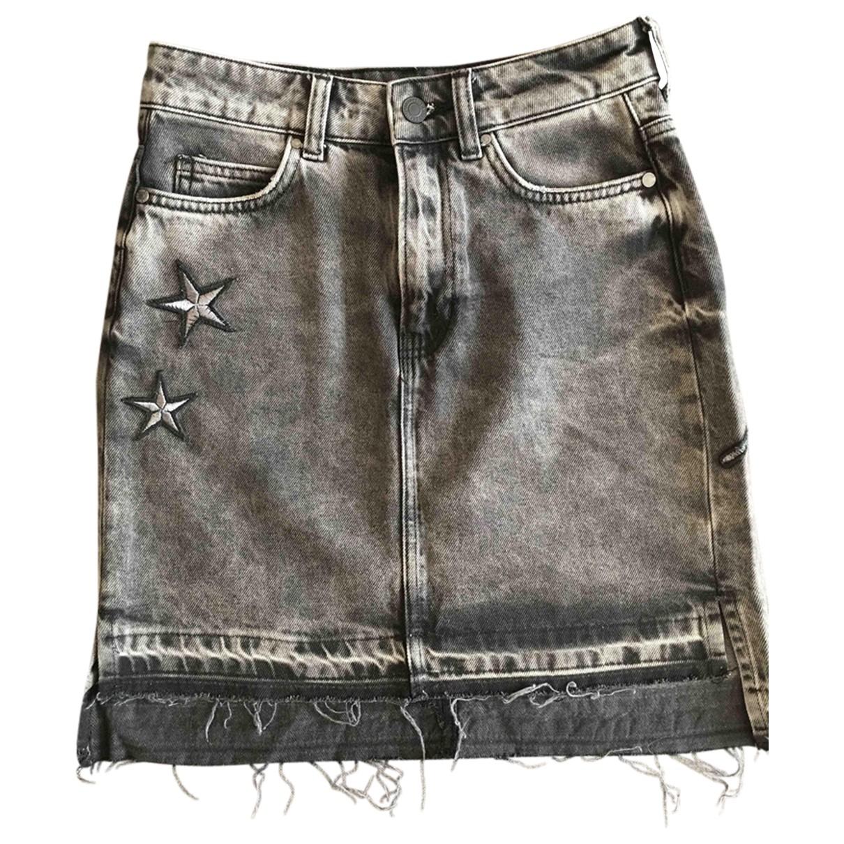 Guess \N Grey Denim - Jeans skirt for Women S International