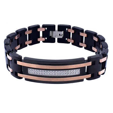 Stainless Steel 8 1/2 Inch Link Link Bracelet, One Size , No Color Family