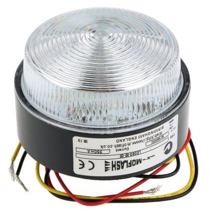 Moflash LED 80 Blue LED Beacon, 10 → 100 V dc, , Multiple Effect, Surface Mount