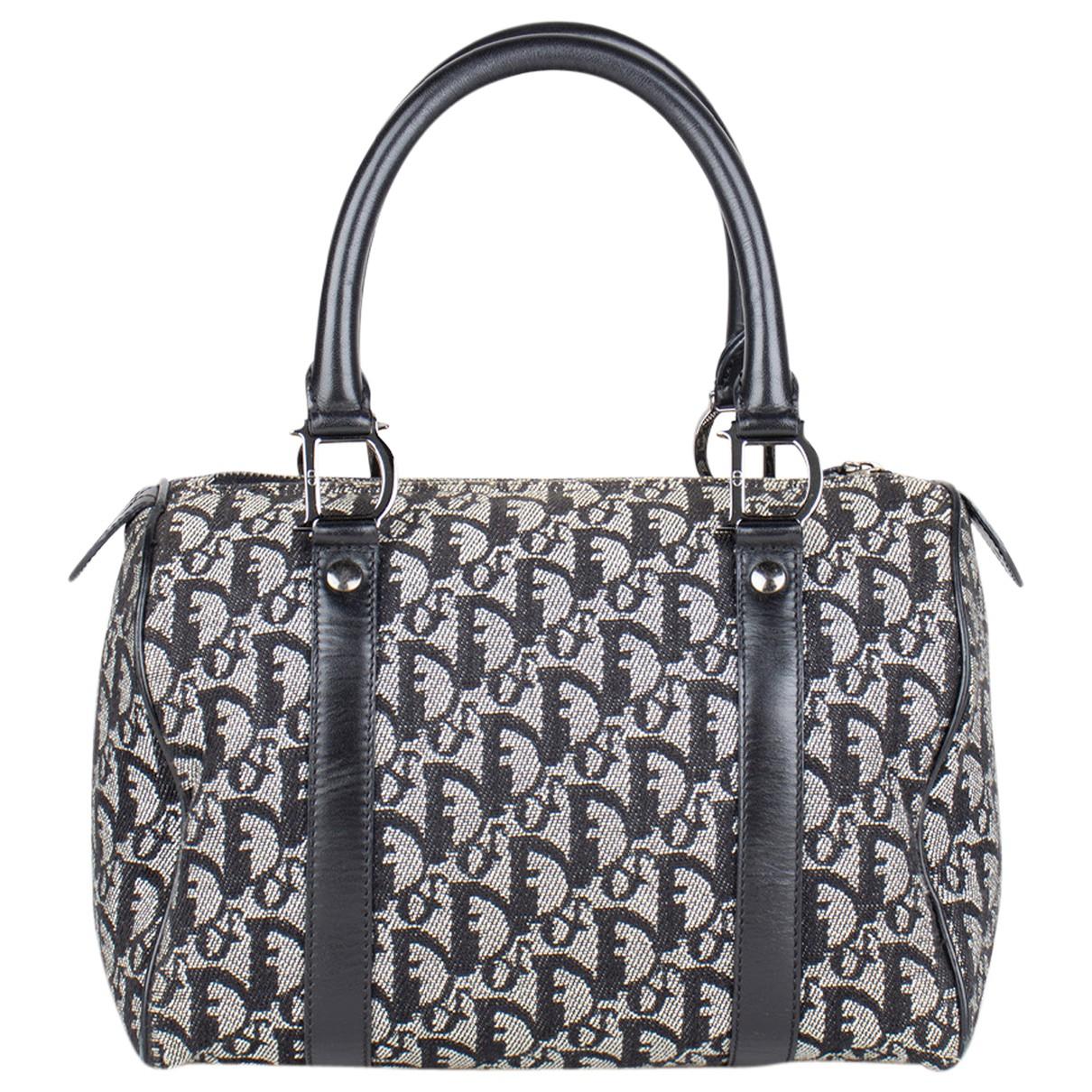 Dior Bowling Grey Cloth handbag for Women N
