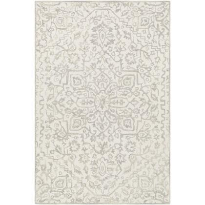 Kayseri KSR-2309 8' x 10' Rectangle Traditional Rug in Taupe  Beige