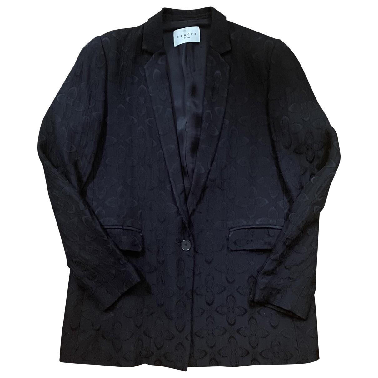 Sandro \N Black jacket for Women 36 FR
