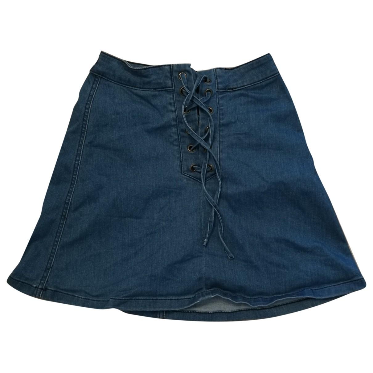 Guess \N Blue Denim - Jeans skirt for Women XS International