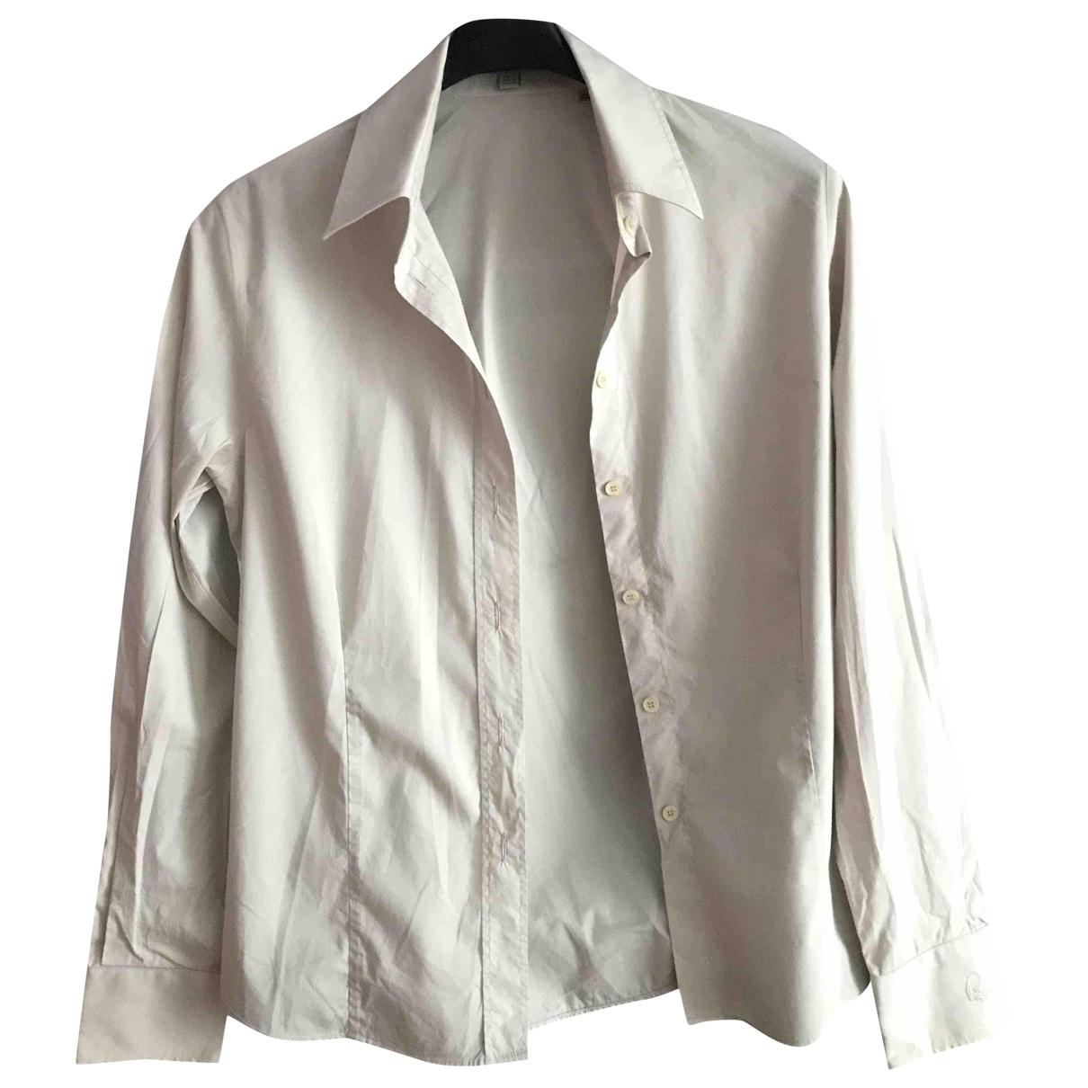 Burberry \N Beige Cotton  top for Women 12 UK