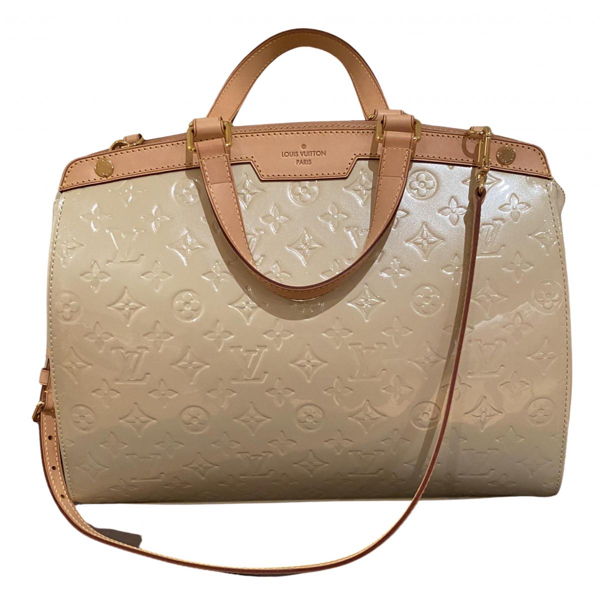 Louis Vuitton Bréa Beige Leather handbag for Women \N