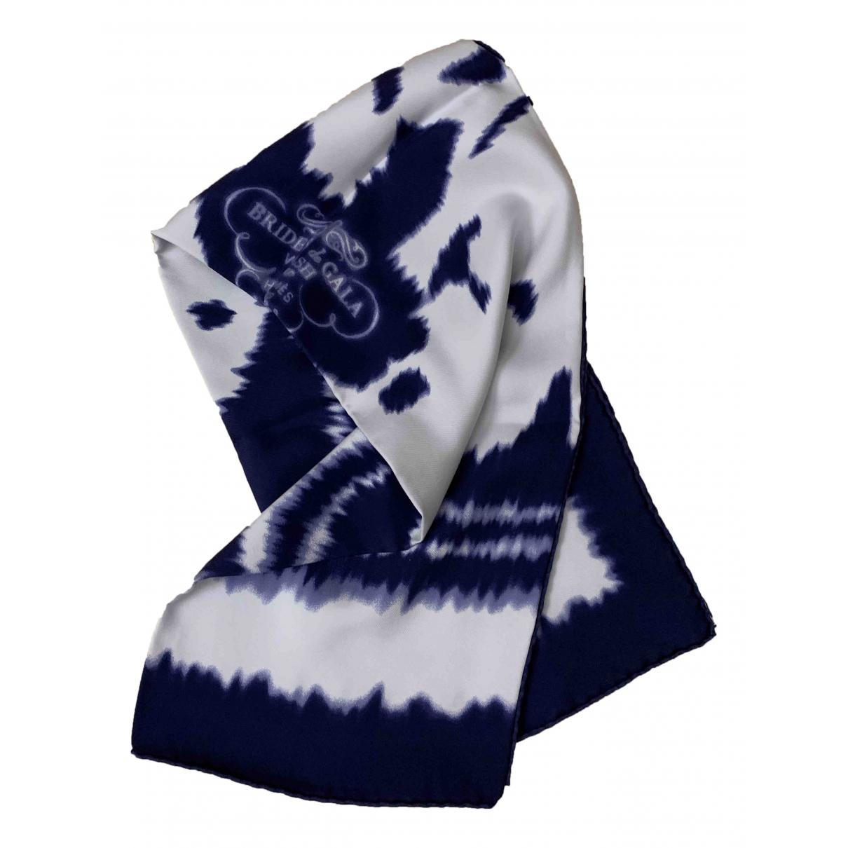 Hermès Carré 90 Blue Silk Silk handkerchief for Women \N